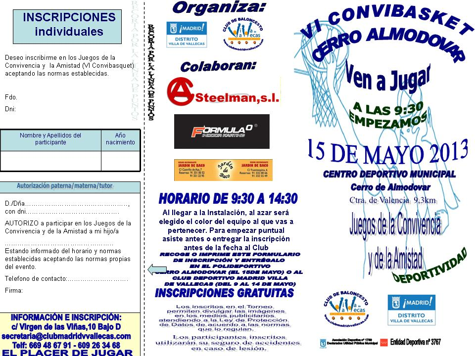 inscripcinconvibasquet2013